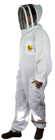 Vented Beekeeper Suit With Fencing Veil