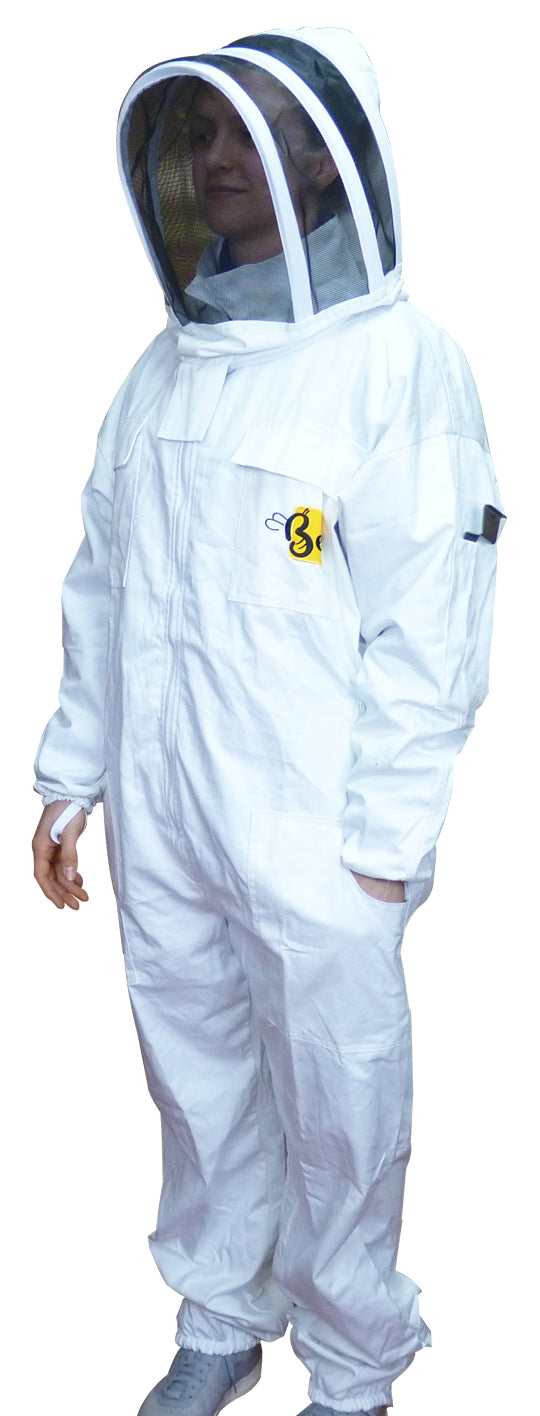 Budget Beekeeper Suit With Fencing Veil - Bee Equipment