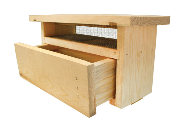 Langstroth Pollen Trap With Rails, Assembled