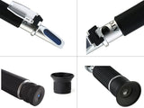 RHB-90 ATC  LED Honey 58-90% Brix 38-43Be 12-27% Water optical refractometer
