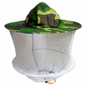 Veil and hat,  Camouflage Beekeeping Hat With Mesh