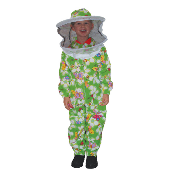 Child Suit Green with Veil