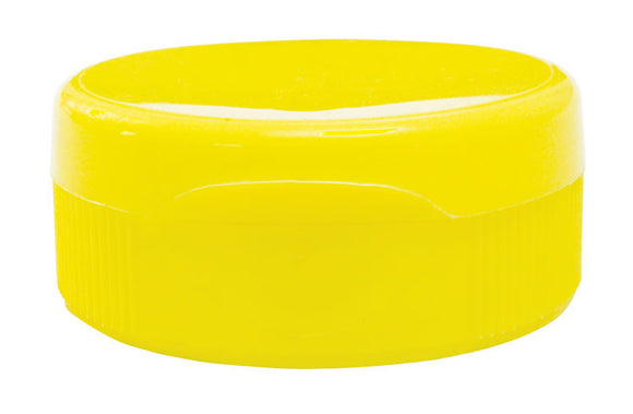 Flip Top Cap Yellow, 250 Pack