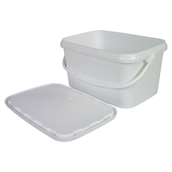 Small Plastic Rectangle Tool Tub With Lid