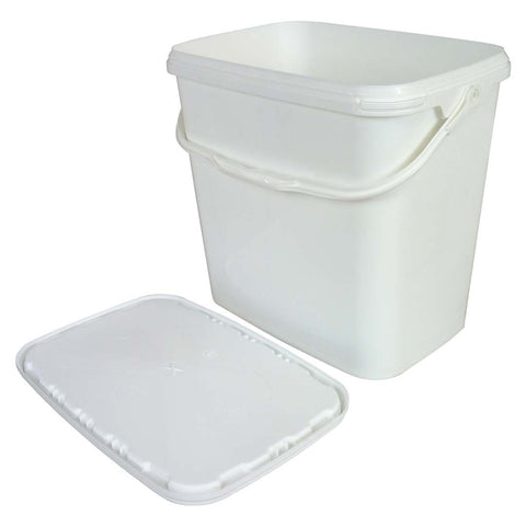 Large Plastic Rectangle Tool Tub With Lid