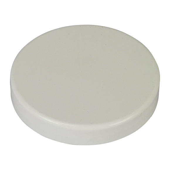58mm Plastic Lid, 12 Pack - Bee Equipment