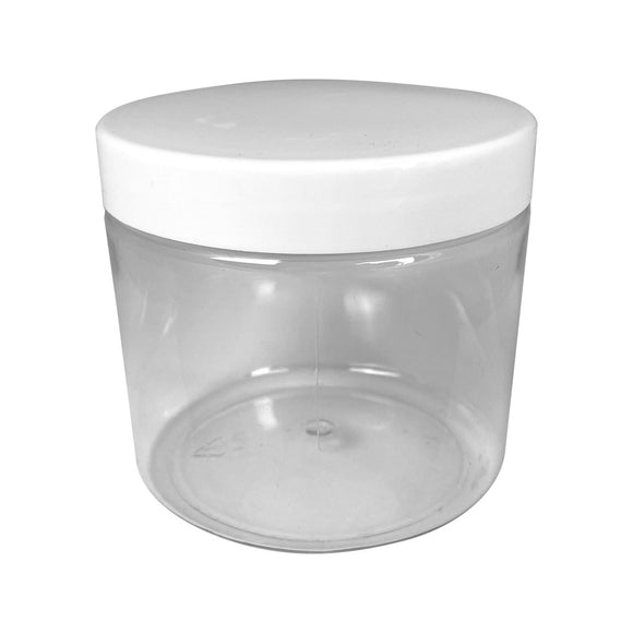 450ml Clear Plastic Jar