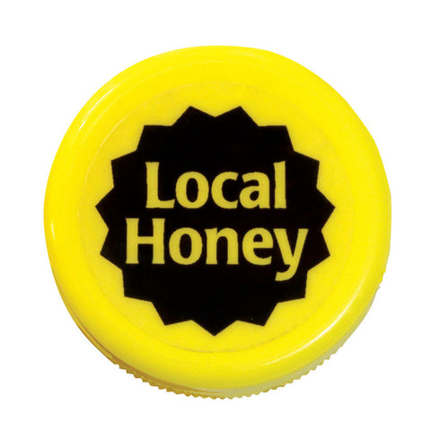 "Local Honey Clear 7/8"", 250 Pack"