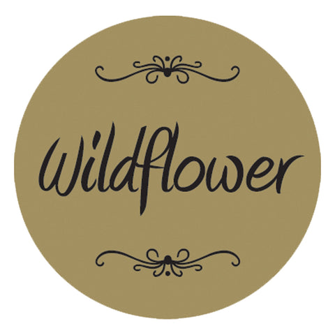 "Wildflower 1 1/4"" Gold Foil, 250 Pack"