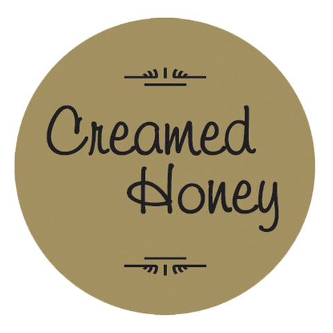 "Creamed Honey 1 1/4"" Gold Foil, 250 Pack"