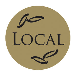 "Local 1 1/4"" Gold Foil, 250 Pack"