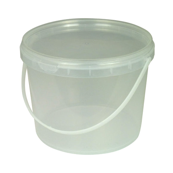 Clear Honey Container 4.3kg
