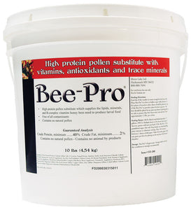 Bee Pro, 10lb Pail - Bee Equipment