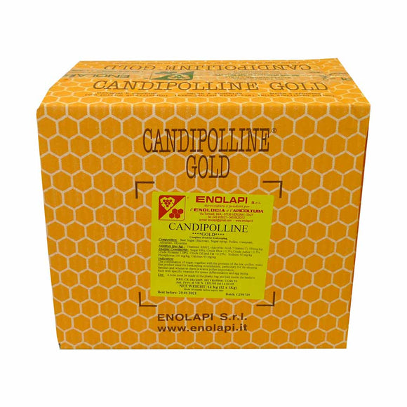 Candipolline Gold with pollen, 5 x 2.5kg box