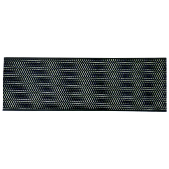 Langstroth Beeswax Coated Plastic Foundation, Super, Black