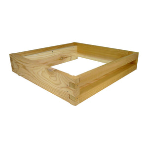 "14"" X 12"" Eke, Flat, Cedar. B.S. National - Bee Equipment"