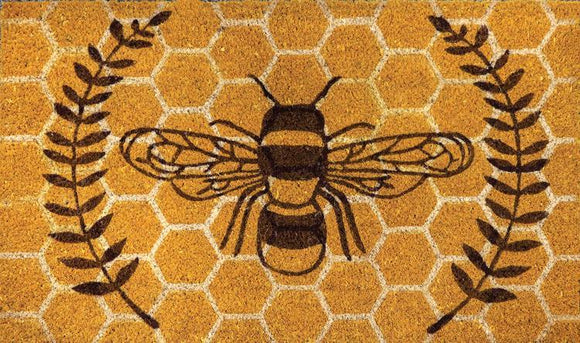 Honey Bee Doormat