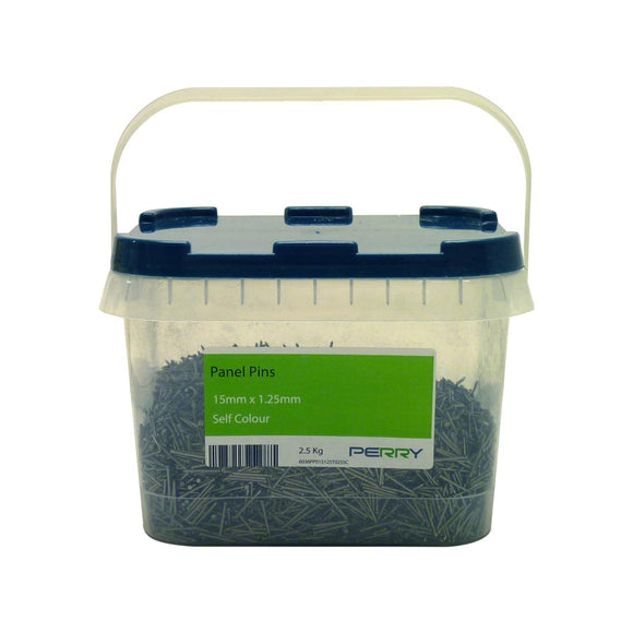 2.5kg Tub Langstroth Frame Nails - 15mm x 1.25mm