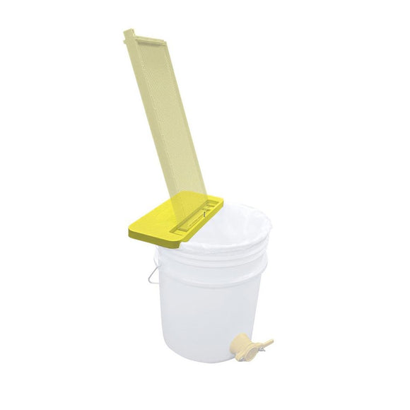 Combcapper Uncapping Frame Rest, Fits 3.5 and 5 us Gallon Bucket.