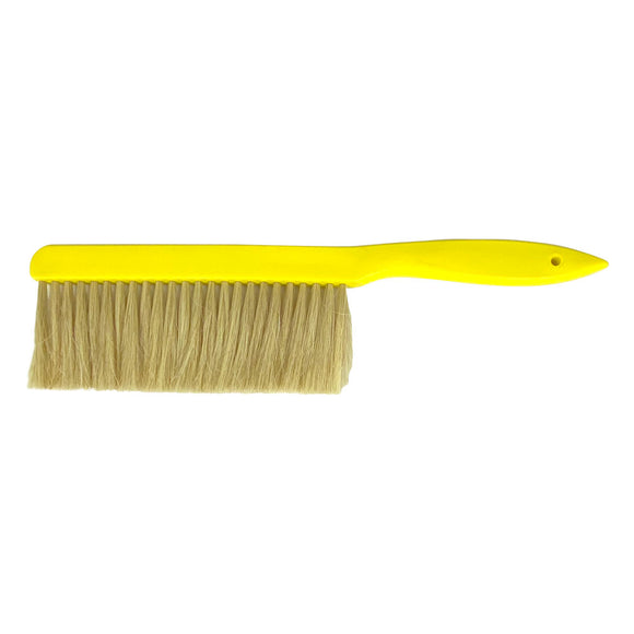 Brush with Synthetic Fibres and Yellow Handle