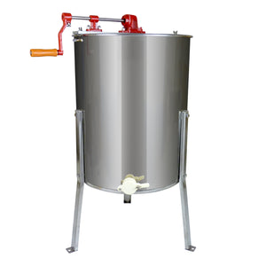 4 Frame Manual Honey Extractor (Seamless) - Bee Equipment