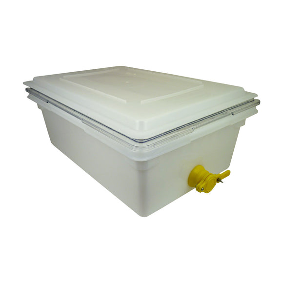 Pro Uncapping Tank, White