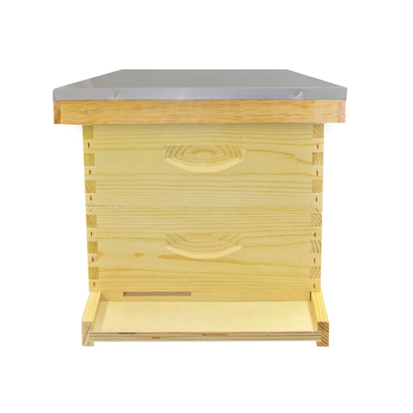 Langstroth Hive Kit: 2 Supers, Floor, Roof & Crown Board