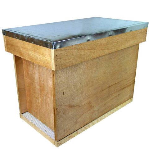 B.S. National Plywood Nuc Box, 14 x 12 - Bee Equipment