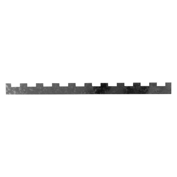 Metalwork: Castellated 10 Frame Spacers for  National, 14x12, 2 pack