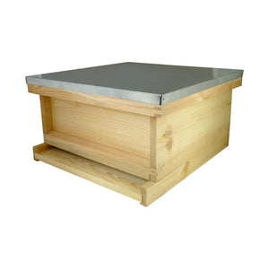 National Winter Hive - Flat Pine Brood Box, Roof and Floor