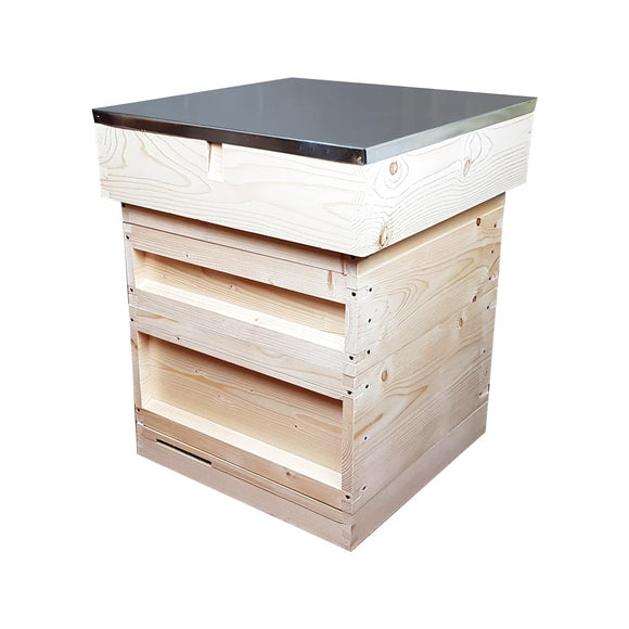 National Hive Kit, Flat, Pine, Deep Roof