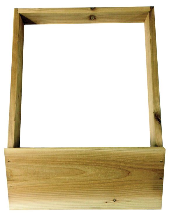 8 Frame Langstroth Hive Stand, Flat, Cedar - Bee Equipment