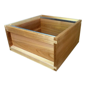 National Brood Box, Flat, Genuine Western Red Cedar Wood