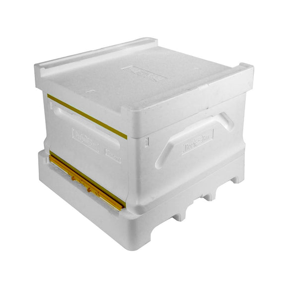 Perfect for winter: National Brood Box Hive, Flat, Paradise Honey Poly