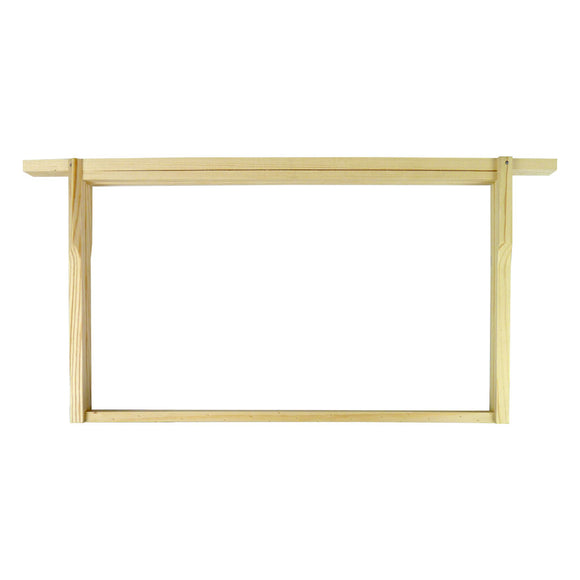 B.S. National Brood Frame, Dn4, Flat, 2nd Grade - Bee Equipment