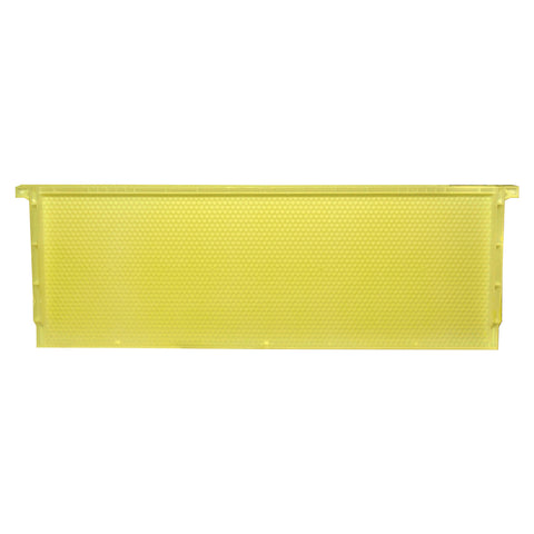 Langstroth Super Standard Plastic Frame, Yellow, Single