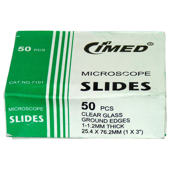 Slide Plain Ground, 50 Pack