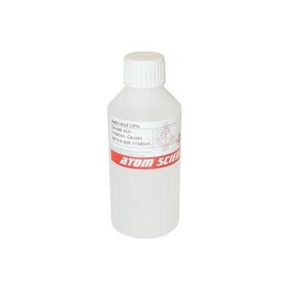 10% Acetic Acid, 250ml - Bee Equipment