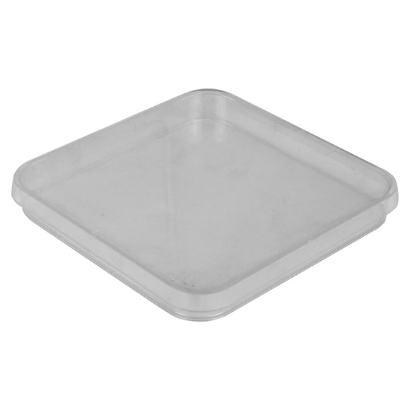 Petri Dishallow, 120mm, Square