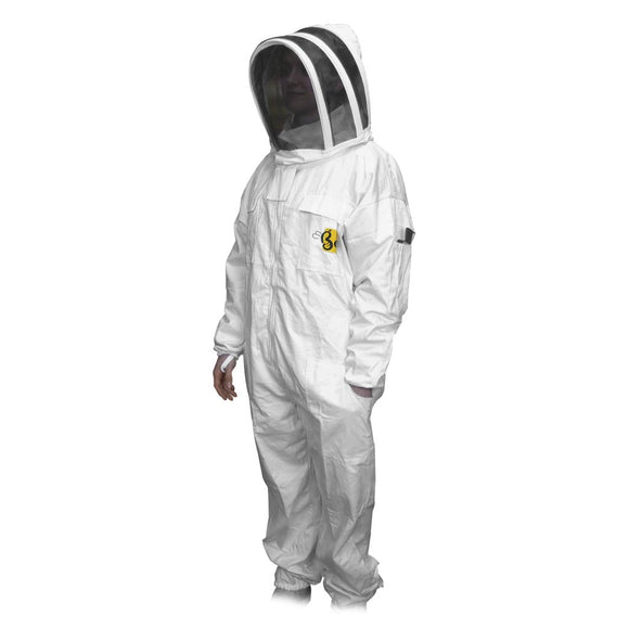 Budget Beekeeper Suit With Fencing Veil