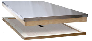 8 Frame Langstroth Roof With Crown Board - Bee Equipment