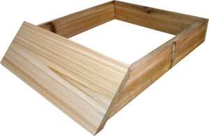 8 Frame Langstroth Hive Stand, Flat, Pine - Bee Equipment