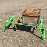 Wood Fold Up Hive Stand Double