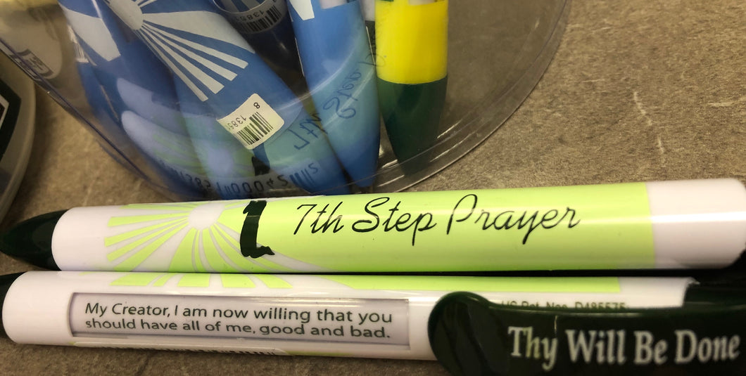 Recovery Pens 7th Step Prayer