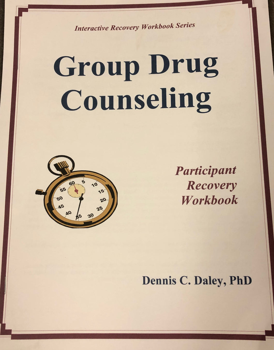 Group Drug Counseling