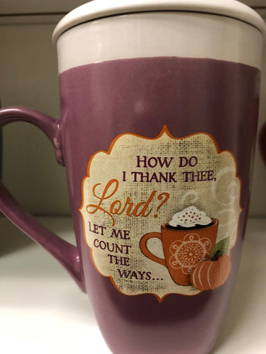 Thankful Latte Mug