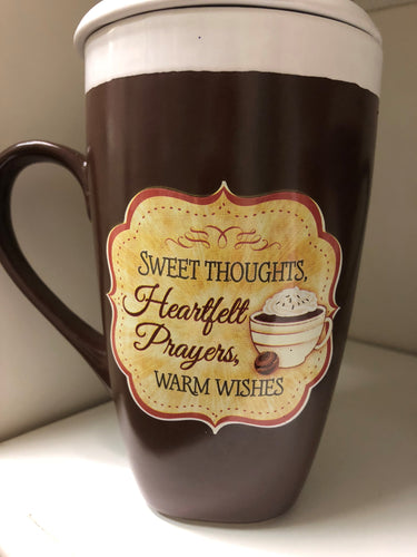 Thoughts, Prayers, Wishes Latte Mug