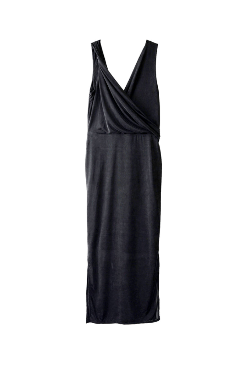 Berenice - Draped Longline Dress - The Lover's Lover