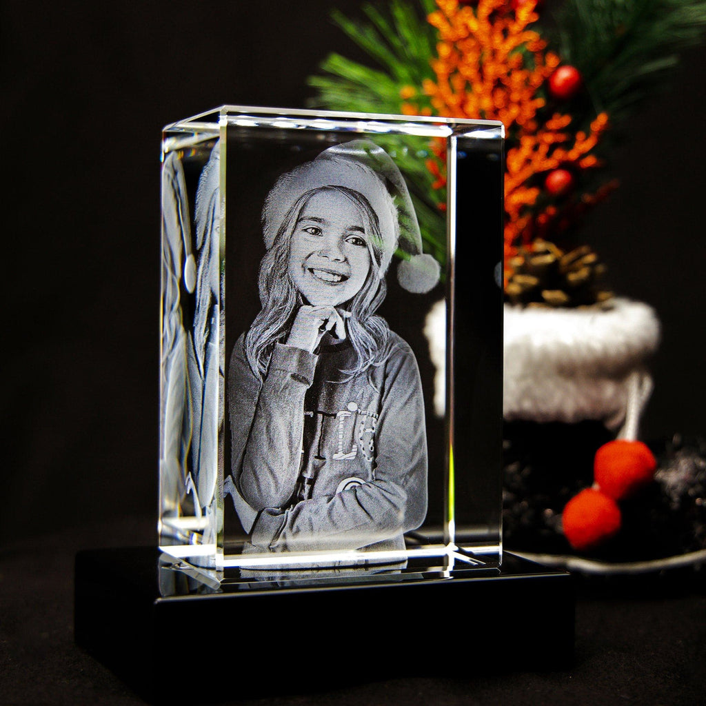 3D Crystal - Portrait Crystal 3D Gifts