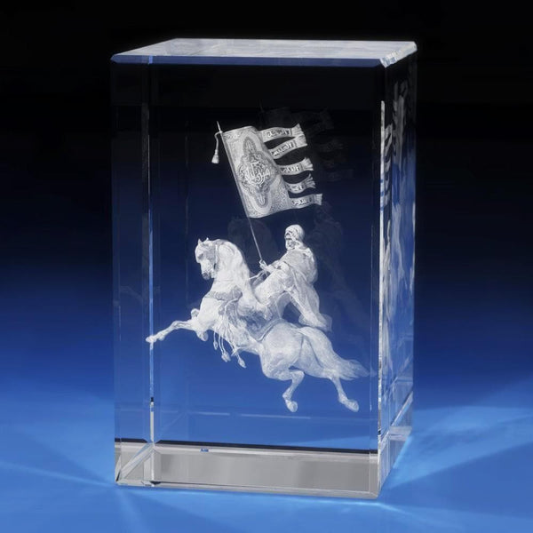 Arabian Soldier Crystal 3D Gifts